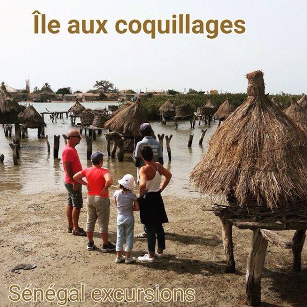 Demi journée iles aux coquillages au départ du royal baobab SOMONE