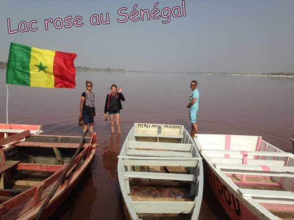 Senegal excursions Journée Gorée et lac rose au Départ l'hotel de l'hotel Filaos Saly Sénégal en Famille et toujours en petite comité