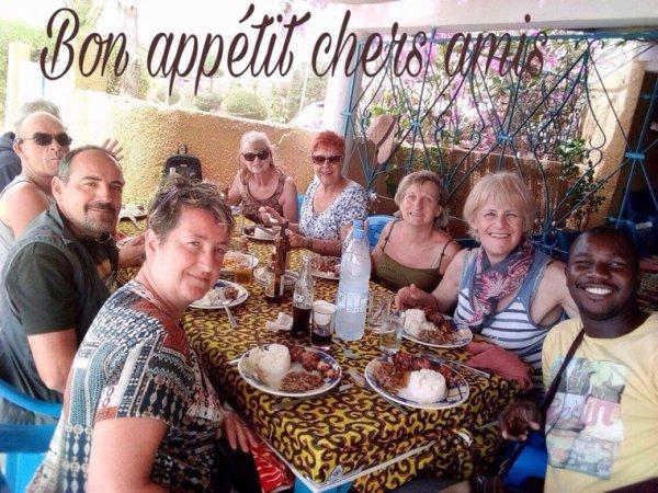 Merci à nos amis du royal baobab et l'hôtel keurmariguen à la SOMONE SENEGAL