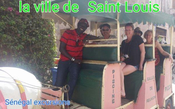 La ville de saint et le désert de lompoul Avec Kambel de sénégal excursions