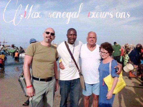 Avec nos amis du royal baobab somone,demi journée retour des pêcheurs à mbour une decouverte typique du port de pêche et du marche de Mbour