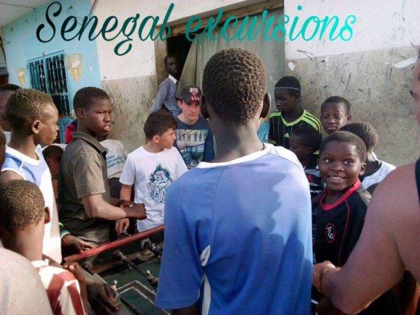 Sénégal excursions et si le hasard vous amène le plaisir vous ramènera
