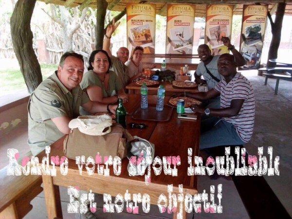 Au départ de l'hôtel lamantin beach Saly excursions et découverte du Senegal