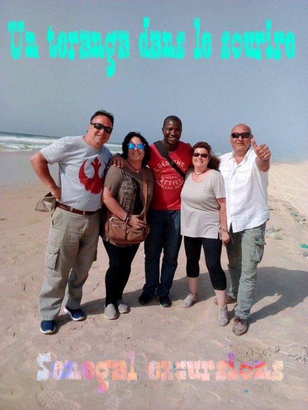 Journée Iles de Goree et lac rose au depart du lamantin beach Saly senegal
