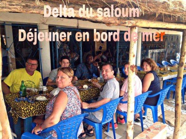 Toujours avec nos amis de l'hôtel royal baobab et Palm beach saly