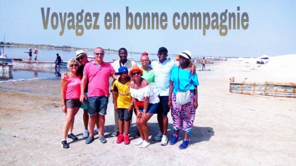 EXCURSION ÎLE DE GOREE LAC ROSE AVEC NOS AMIS DU ROYAL BAOBAB HORIZON LA SOMONE