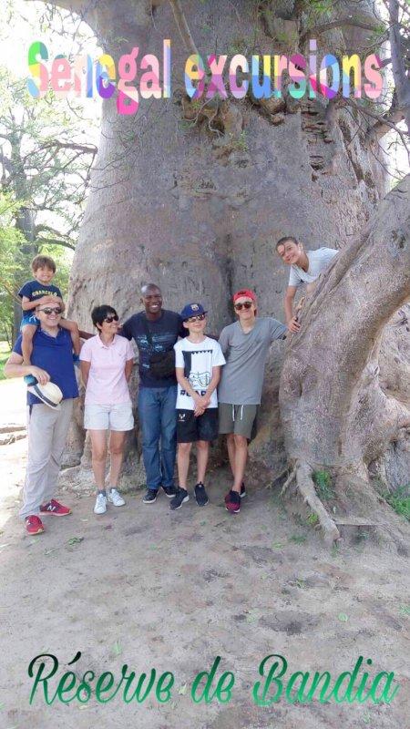 Nos excursions au départ de l'hôtel lamantin beach saly Senegal