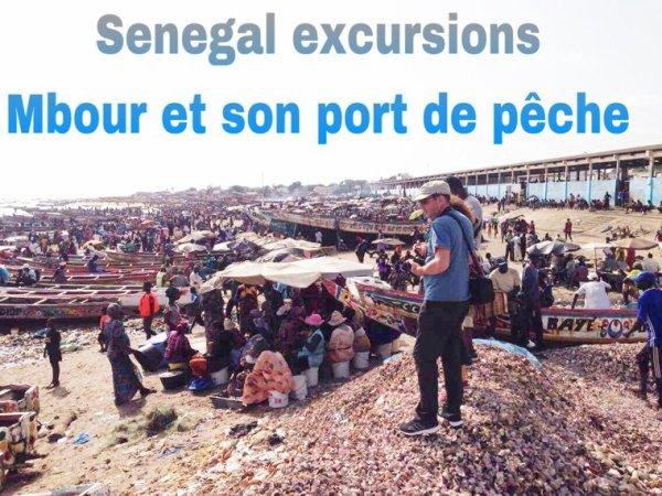 Une magnifique découverte de Mbour et son port de Peche. Avec nos amis du royal baobab à la somone
