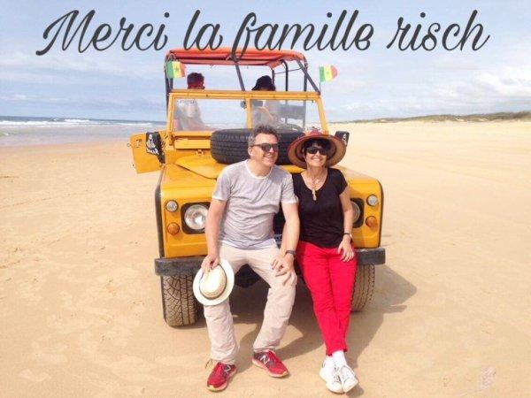 Journee Goree lac rose avec nos amis de l'hôtel le lamantin beach saly Senegal