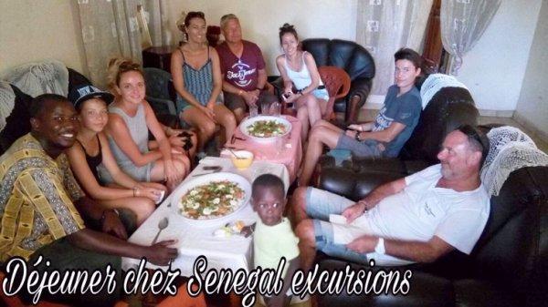 Une magnifique journée d'excursion avec nos amis du filaos à saly. Découverte de l'île aux coquillages et déjeuner chez djibril et Max en famille Sénégalaise. Senegal excursions c'est le Senegal autrement