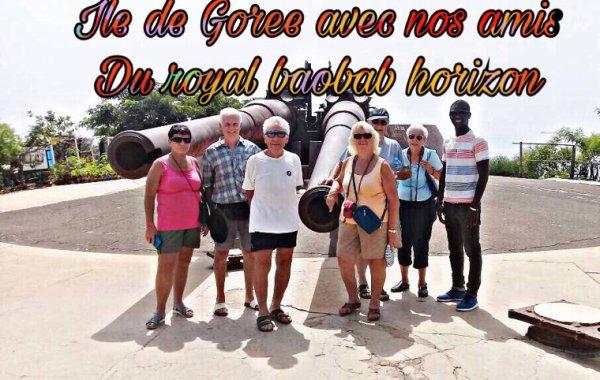 Journee Goree lac rose avec nos amis du royal baobab à la somone