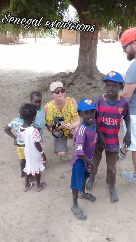 Journée découverte de la brousse sénégalaise avec nos amis du royal baobab à la somone.