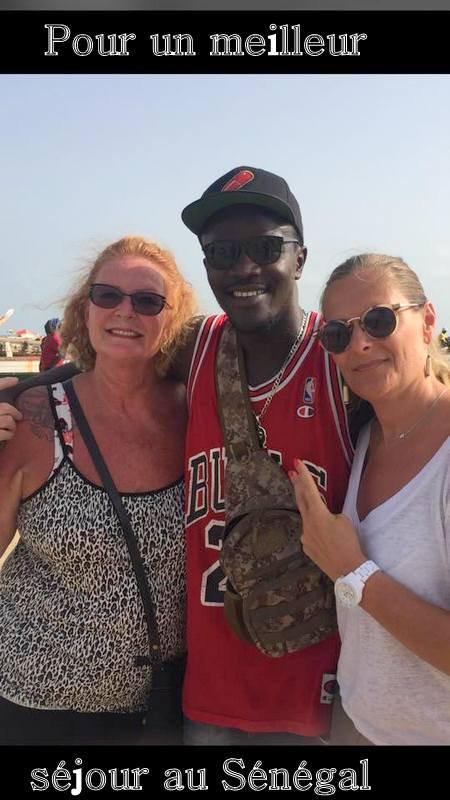 Nos excursions au Départ de Saly hotel palm beach, avec WEYNDE le petit frère TOP guide de Sénégal excursions