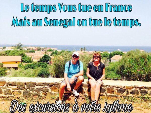 Un belle journée sur l'île de Goree avec nos chers amis du royal baobab et l'hôtel filaos saly Senegal.