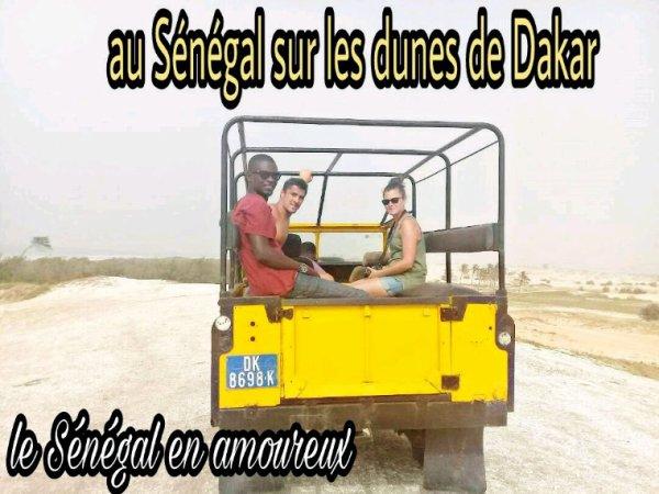 Nos excursions au depart de l'Africa Queen senegal en amoureux