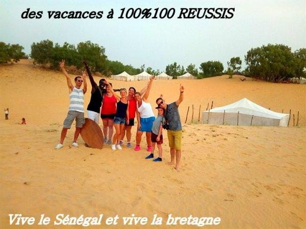 Desert de lompoul au Senegal avec Senegal Excursions