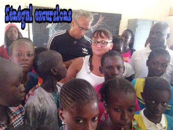 Merci a nos amis du baobab Somone new horizon. 3 eme séjour avec Sénégal excursions