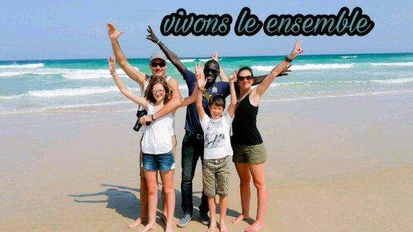 Un grand merci a Stéphane et Aline nos amis de l'auberge keur mariguen Somone,les meilleurs excursions au depart de la somone