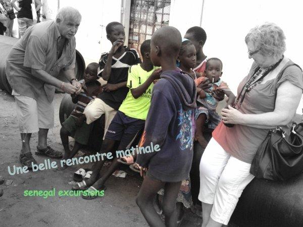 Au départ de Somone et Saly avec nos amis de l'hotel Royal Baobab Horizon et de Saly Hotel pour une trés belle journée passée dans la brousse!!!