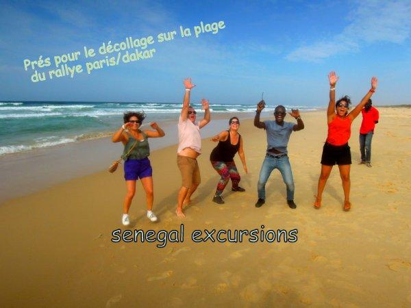 Avec nos amis de l'hotel Royal Baobab pour une excellente journée passée à Gorée/Lac Rose