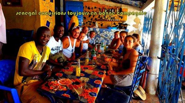 Au départ de la somone et de saly avec nos amis de royal baobab et de Palm beach pour une journée inoubliable dans la brousse