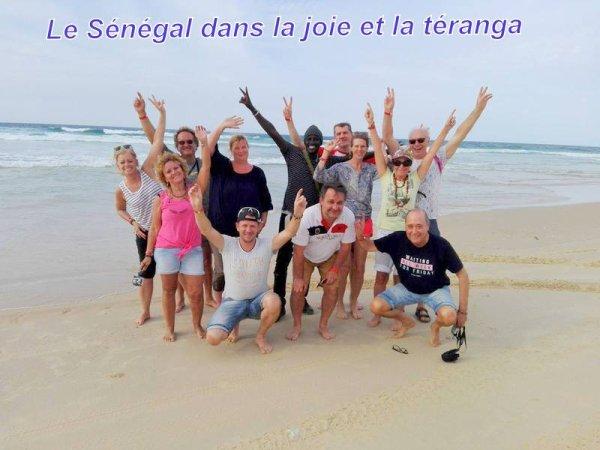 Une belle journée a l'île et le lac rose avec nos amis du royal baobab horizon au Sénégal