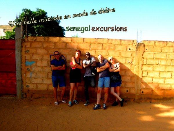 au depart de la somone avec nos amis de l'hôtel royal baobab. Sénégal excursions toujours le meilleur choix. Les vacances 100% validées