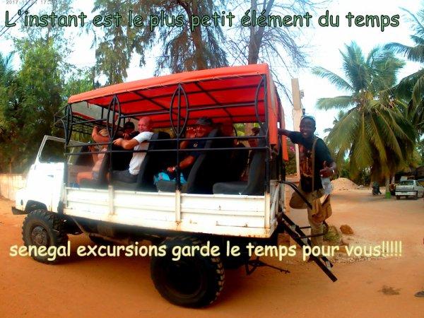 au depart de la somone avec nos amis de l'hôtel royal baobab. Sénégal excursions toujours le meilleur choix. Gorée/Lac rose, les vacances 100% validées