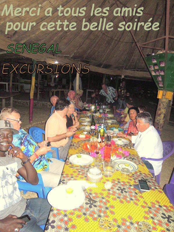 Découvrez les meilleurs soirée langouste au feux de bois sur la lagune de la somone. Senegal excursions en bonne compagnie