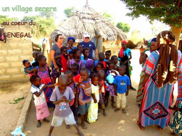 au depart de la somone avec nos amis de l'hôtel royal baobab pour une demi journée dans le saloum et l'arrivé des pécheurs