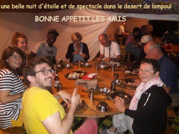 au départ de nianing et de saly avec nos amis de la France et la résidence des cristallines de saly pour une découvert dans le nord du senegal : saint louis/lompoul