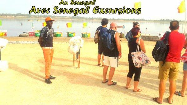 Des excursions au départ de la somone pour une très belle matinée au lac rose avec nos amis de l'hôtel royal baobab.