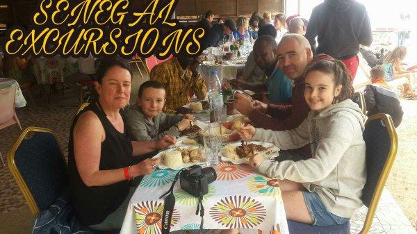 Fêtes de noël au sengal avec nos amis de l'hotel royal baobab de la somone pour une journée bandia/lac rose