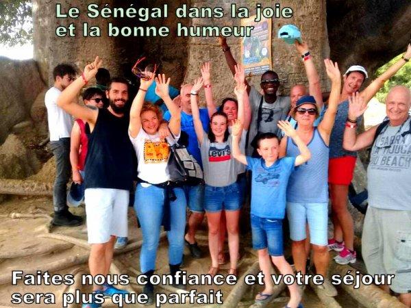 Au départ du royal baobab Horizon jet tours , Vivez les meilleurs excursions au Départ de la Somone au Sénégal