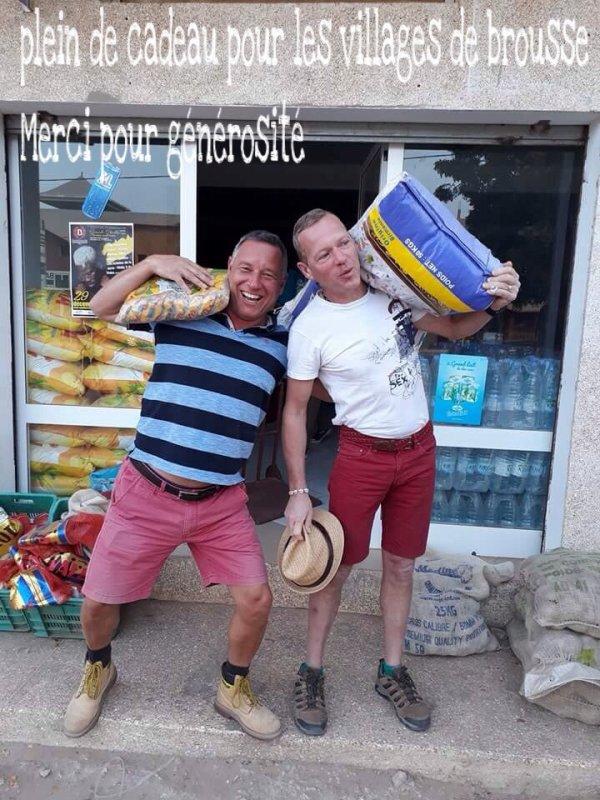Avec nos amis du lamantin beach. Une belle journée d'excursions au départ de Saly pour la région du sine et saloum