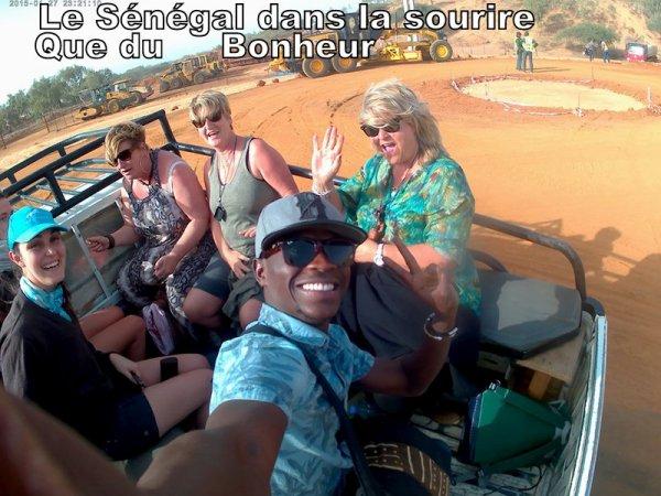 Au depart de l'hotel africa Queen à la Somone, et Saly Hotel, Circuit 2 jours saint louis et le Désert de Lompoul