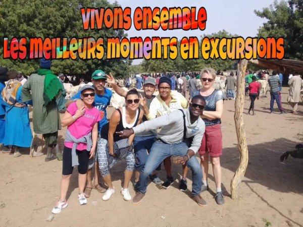 De très bon moments avec nos club lookea filaos à Saly une belle découverte typique du Sénégal