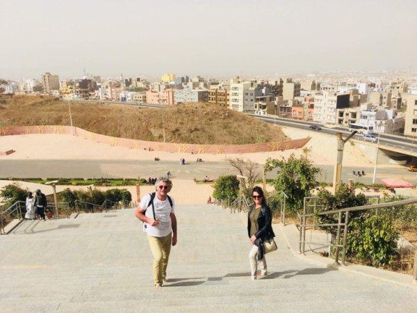 Une découverte de la ville de dakar et l'île de Gorée avec nos amis royal baobab horizon à la Somone
