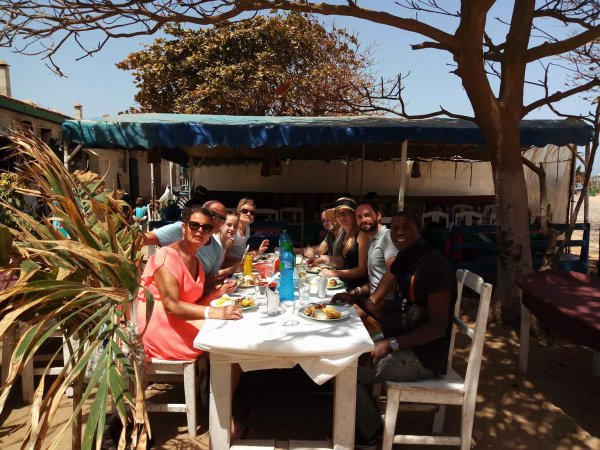 Une sortie très sympa sur l'île de gorée au départ de l'hôtel Palm beach, petite par sa taille mais grand par l'histoire.