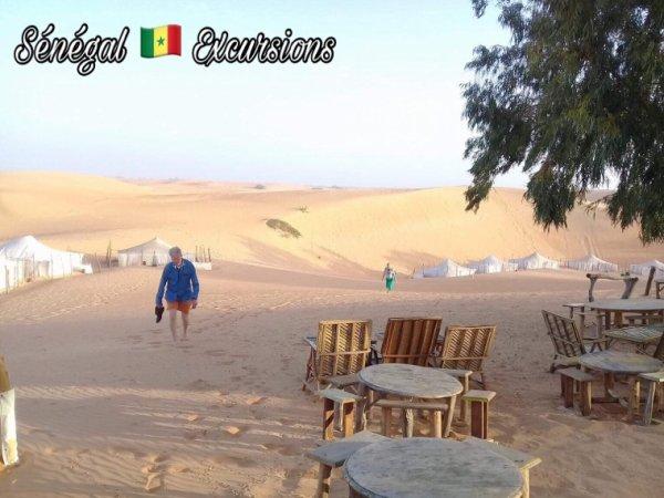 Désert de Lompoul au Sénégal. Une belle journée à st louis et une belle nuit au désert de lompoul.