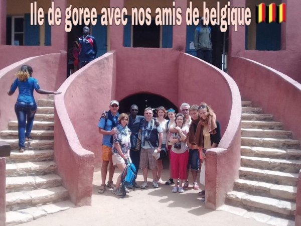 Un super belle journée a l'île de Goree et au lac rose au départ de l'hôtel royal baobab. Merci à nos amis de belges qui nous ont fait confiance pour découvrir les merveilles du Sénégal.