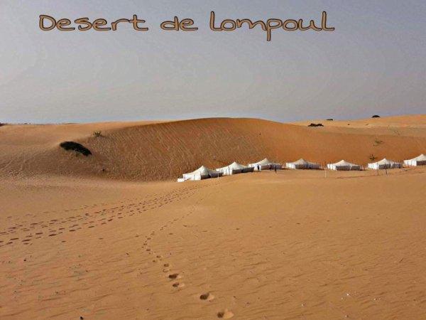 Un bon moment en famille au désert de Lompoul.