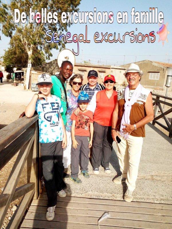 Une belle journée dans la région du sine et Saloum avec nos amis de Rufisque. Au départ du ferme de Saly. Merci pour votre confiance