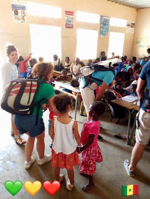 Au départ du Royal baobab hôtel la Somone une belle découverte solidaire au c½ur des villages serere et peul. Merci pour votre confiance