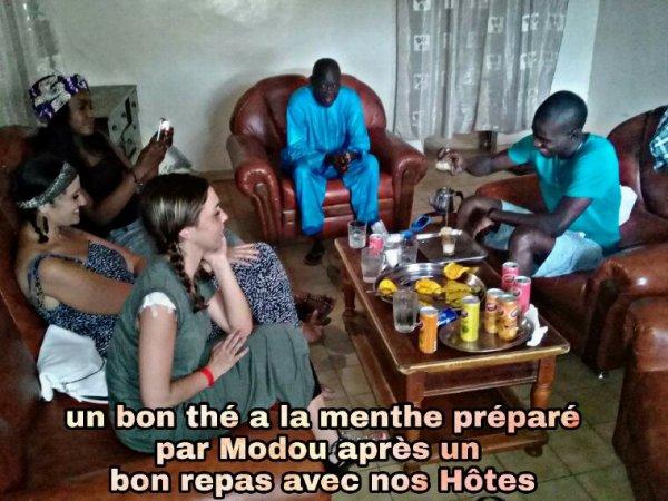 L' aid Chez Djibril un moment exceptionnel avec nos amis de la Normandie de l'hôtel Royal baobab horizon à la Somone
