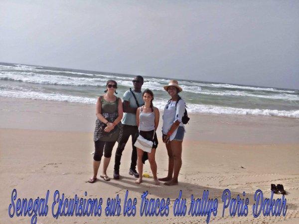 Sénégal Excursions au départ du royal baobab merci les filles de votre confiance. Une belle journée dans la joie et le sourire comme toujours