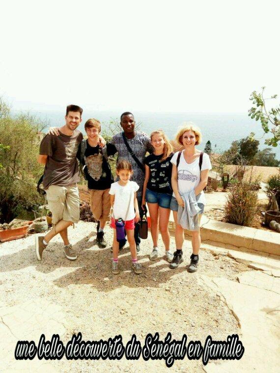 Au depart du l'hôtel royal baobab horizon  à  la Somone. Une belle journée en famille