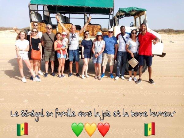 Au départ de la Somone royal baobab Horizon à la Somone. Ils nous ont fait confiance pour découvrir un Sénégal Extraordinaire