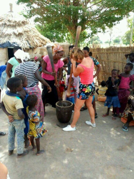 Le Sénégal au coeur des villages de l'ethnie Sérére du Sénégal.