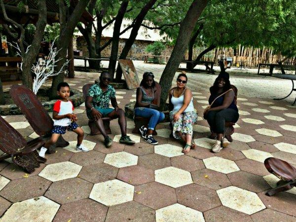 Réserve de bandia au départ saly merci à nos clients de Dakar un bon séjour sur la petite côte